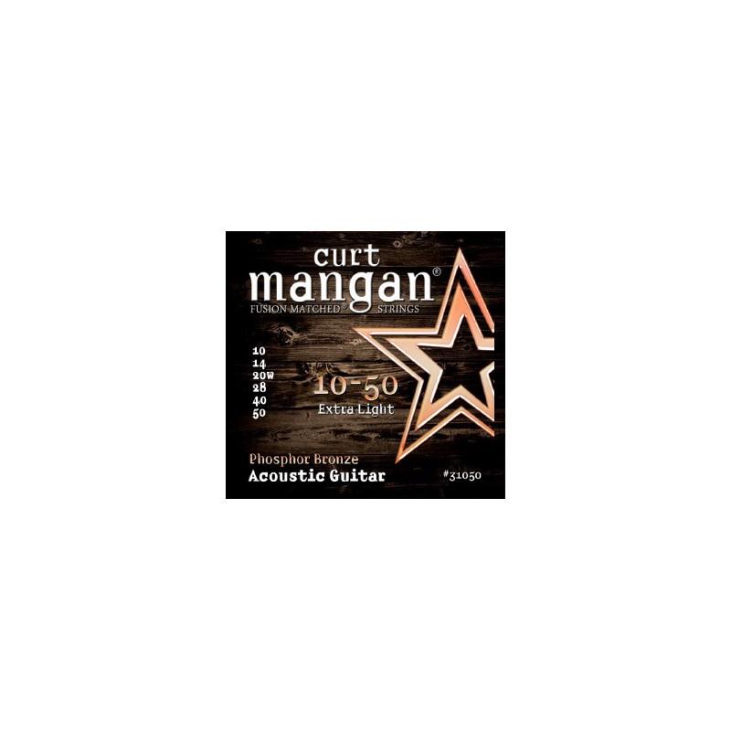 Cuerdas Acústica Curt Mangan Phosphor Bronze 10-50