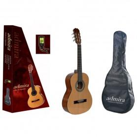 Guitarra Clásica Admira Alba 3/4 Pack