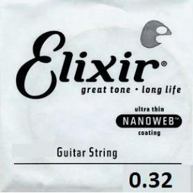 Cuerda suelta Eléctrica Elixir Nanoweb Entorchada 032