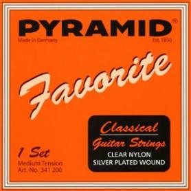 Cuerdas de Guitarra Clásica Pyramid Favorite Clear Nylon