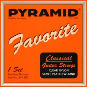 Pyramid Favorite Clear Nylon Classical Guitar Strings