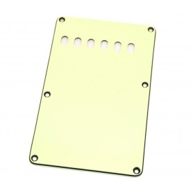 Vintage White Strat Backplate Tremolo Cover