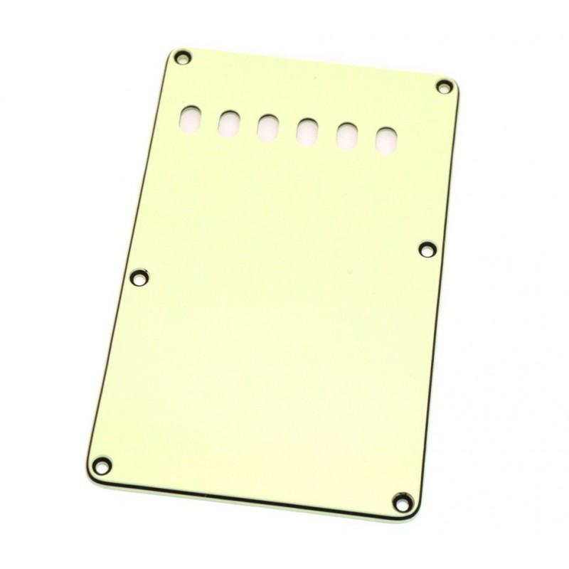 White Strat Backplate Tremolo Cover