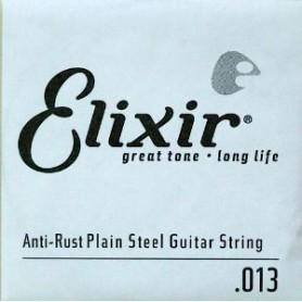 Cuerda suelta eléctrica/acústica Elixir Nanoweb Plana 013
