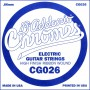 D'Addario Chromes CG032 Flat Wound Single String