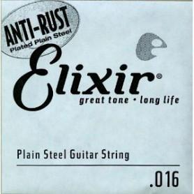 Cuerda suelta eléctrica/acústica Elixir Nanoweb Plana 016