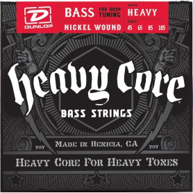 Cuerdas Bajo Dunlop Heavy Core 45-105