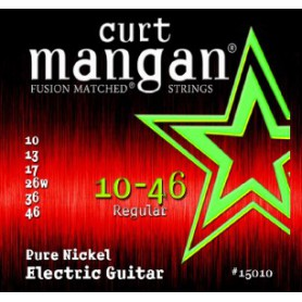 Curt Mangan 10-46 Pure Nickel Wound Electric Strings