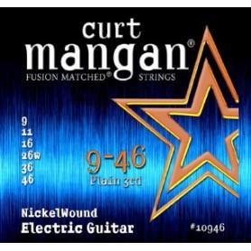 Cordes Elèctrica Curt Mangan 09-46 Nickel Wound Fusion Matched