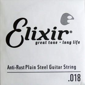 Cuerda suelta eléctrica/acústica Elixir Nanoweb Plana 018