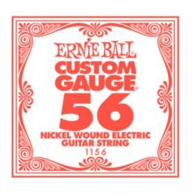 Ernie Ball Nickel Wound Single String 056