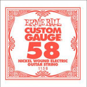 Ernie Ball Nickel Wound Single String 058