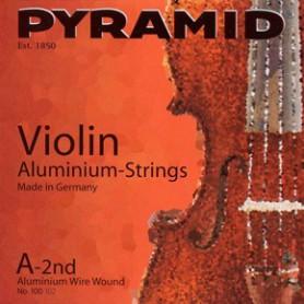 Cuerda Suelta Violin Pyramid Aluminum E-1st
