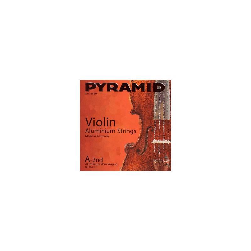 Corda solta Violin Pyramid Aluminum E-1st