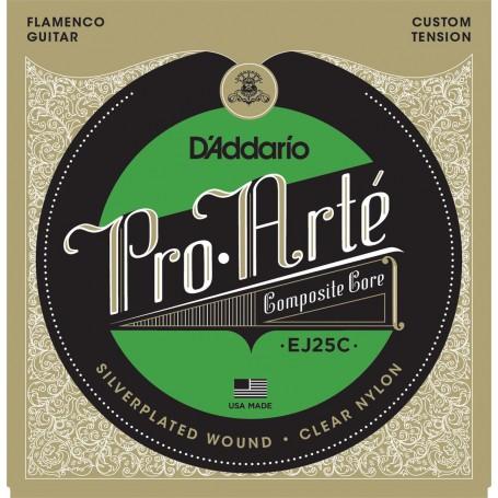 Cuerdas Clásica D´Addario ProArte EJ25C Flamenco