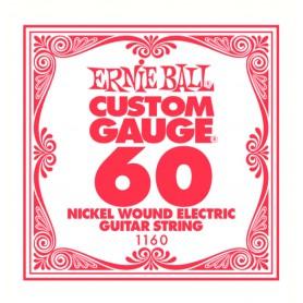 Corda Solta Elèctrica Ernie Ball Nickel entorxada 060