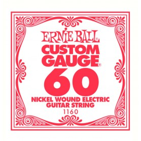 Ernie Ball Nickel Wound Single String 060