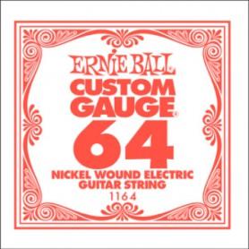 Corda Solta Elèctrica Ernie Ball Nickel entorxada 064
