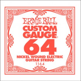 Ernie Ball Nickel Wound Single String 064
