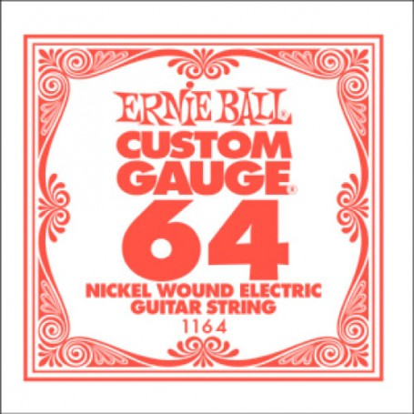 Cuerda Suelta Eléctrica Ernie Ball Entorchada 064