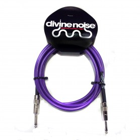 Cable de Instrumento Divine Noise Purple Straight Cables ST-ST 3m
