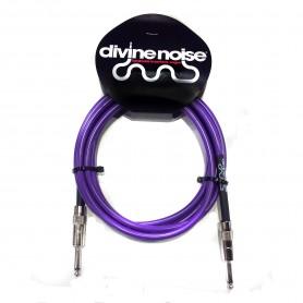 Cable de Instrumento Divine Noise Purple Straight Cables ST-ST 3m