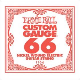 Cuerda Suelta Eléctrica Ernie Ball Entorchada 066