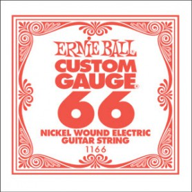 Ernie Ball Nickel Wound Single String 066