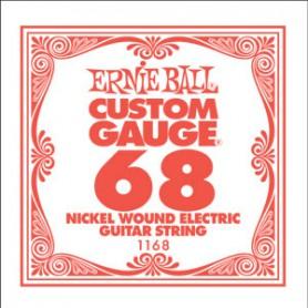 Corda Solta Elèctrica Ernie Ball Nickel entorxada 068