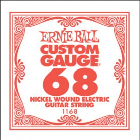 Ernie Ball Nickel Wound Single String 068