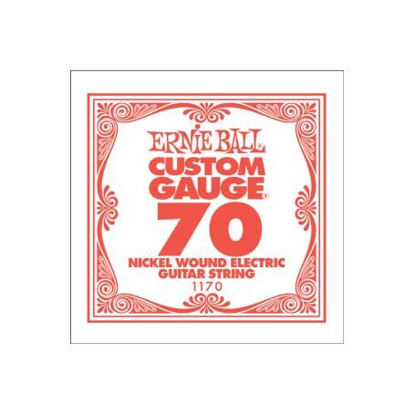 Cuerda Suelta Eléctrica Ernie Ball Entorchada 070