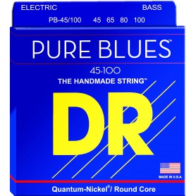 Cordes Baix DR Strings Pure Blues 45-100 Medium Lite