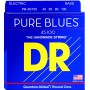 Cuerdas Bajo DR Strings Pure Blues 45-100 Medium Lite