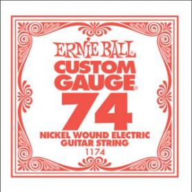 Corda Solta Elèctrica Ernie Ball Nickel entorxada 074
