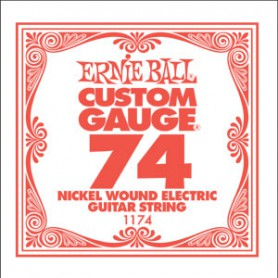 Ernie Ball Nickel Wound Single String 074