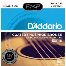 Cordes Acústica D'Addario EXP16 12-53