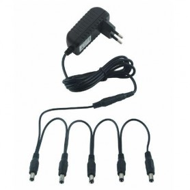 RockPower Combo Pack All 5 Power Supply 9V DC 1300 mA.