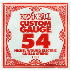 Ernie Ball 054 Nickel Wound Single String