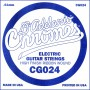 Corda solta D'Addario Chromes CG024 entorxat pla per elèctrica