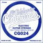 Cuerda suelta D´Addario Chromes CG024 entorchado plano para eléctrica