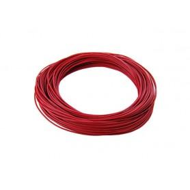 Cable Interno 22-GA Preestañado Rojo