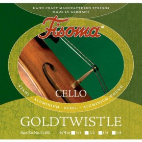 Cuerdas Cello Fisoma Goldwostle F1200 4/4