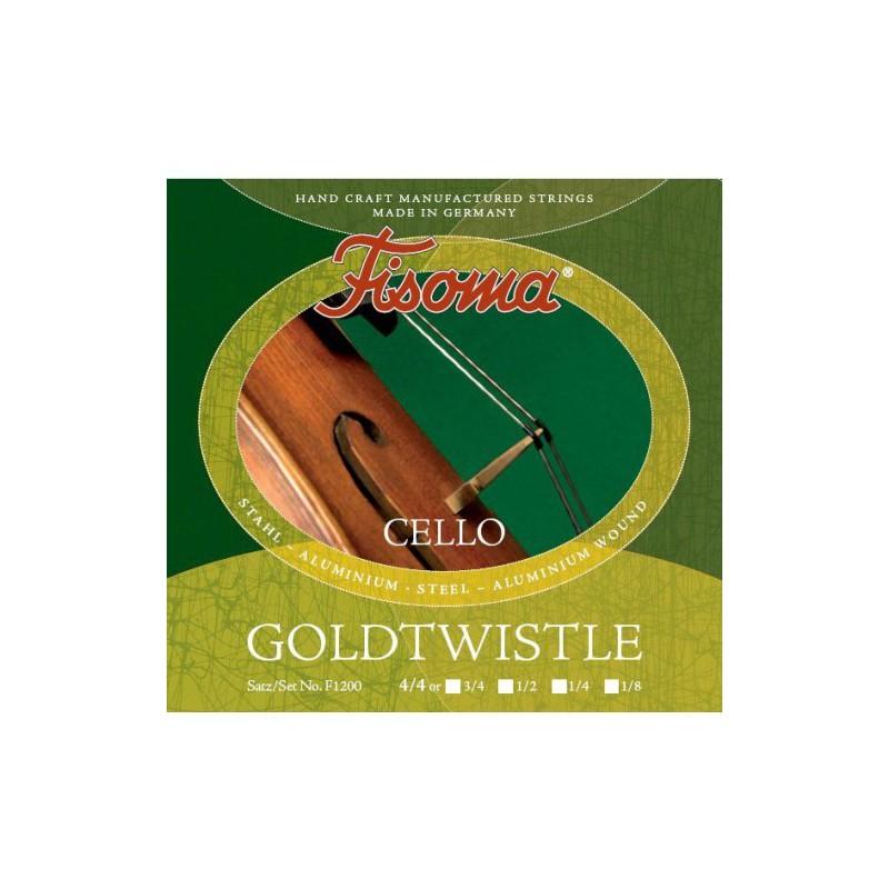 Fisoma Goldwostle F1200 4/4 Cello Strings
