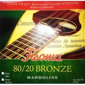 Fisoma F3020 80/20 Bronze Mandolin Strings