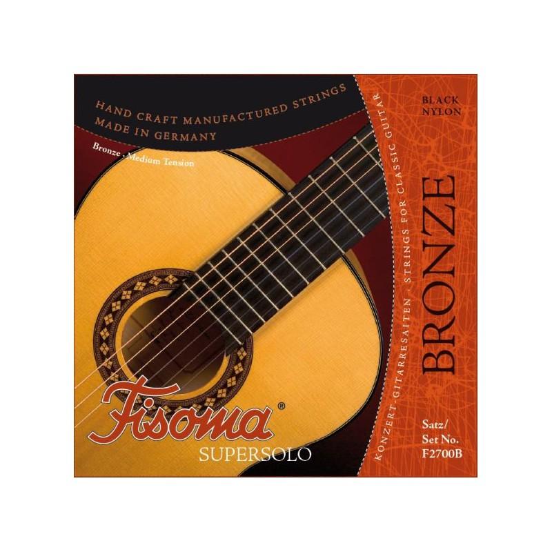 Cuerdas Clásica Fisoma F2700 Bronze Medium Tension