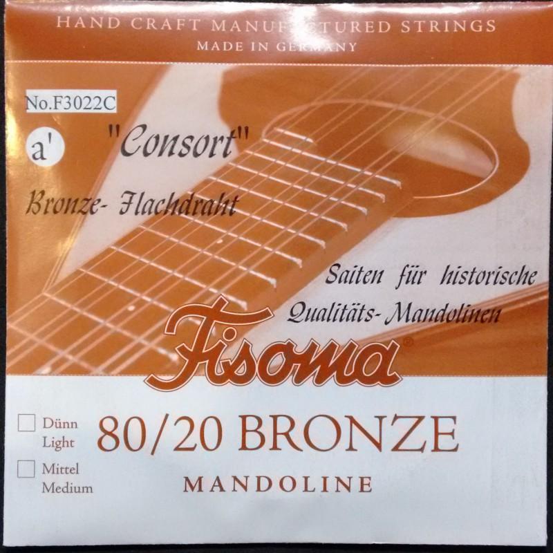 Cuerda Suelta Mandolina FIsoma Consort 2ª F3022C