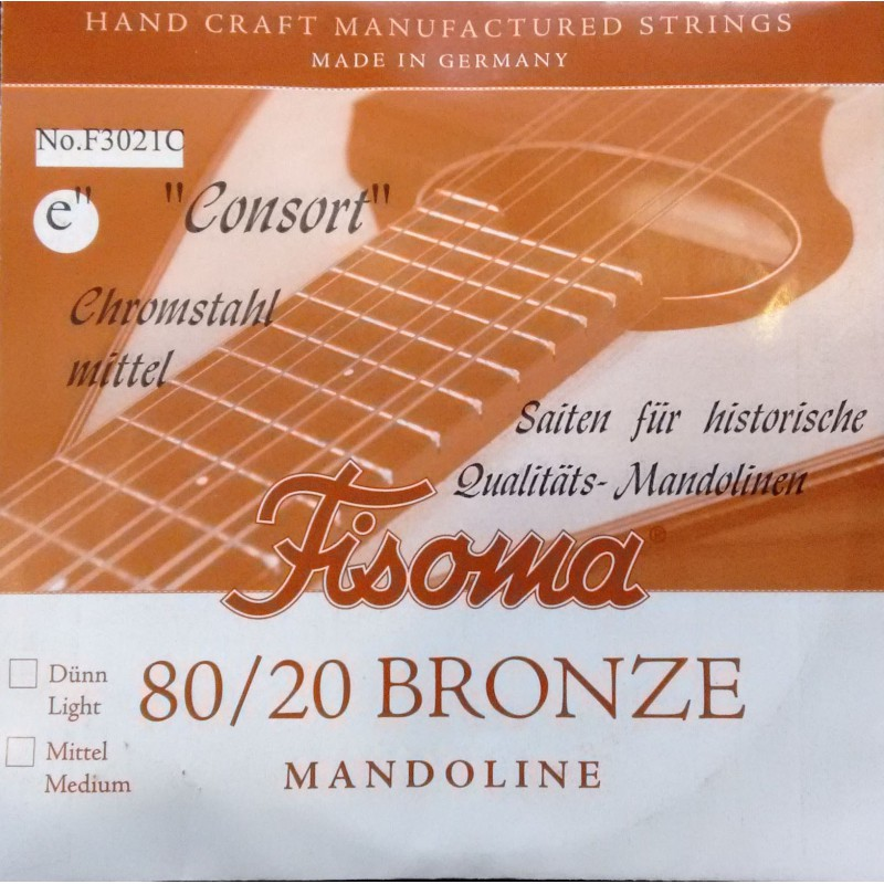 Cuerda Suelta Mandolina FIsoma Consort 1ª F3021C