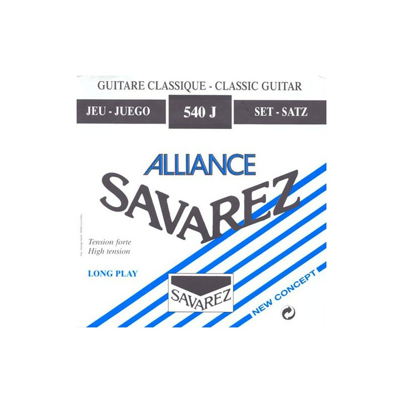 Cuerdas Clásica Savarez Alliance 540J Tensión Fuerte