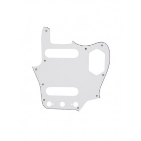 White Jaguar Type Pickguard