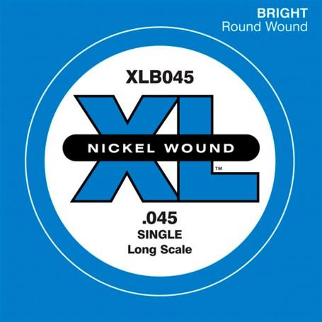 Cuerda suelta Bajo D´Addario Nickel XLB 045
